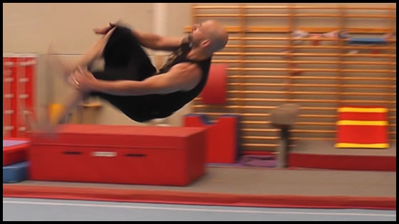I always wanted to do gymnastics but it wasn't until I was twenty four that I had my first opportunity to try it out. I'm not a great gymnast but I love it :)