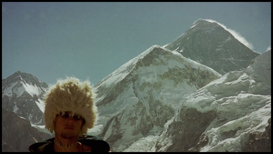 Base camp Mt Everest at age eighteen (of all the countries I've visited I dream of Nepal the most...)