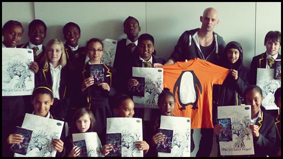 Author Marcus Alexander School Visits II