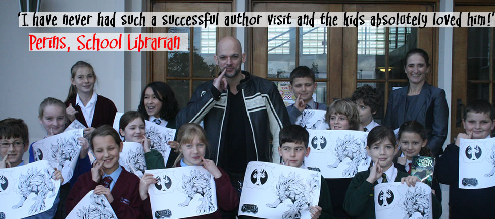 School Visit Marcus Alexander Author