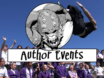 Author Events - School Visits, Workshops & Motivational Talks