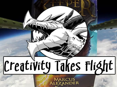 Creativity Takes Flight - A Book in Space